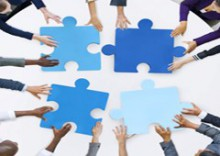 BILD - <b>Das &Ouml;ffentliche Gesundheitswesen:<br>  Koordination und Zusammenarbeit aller Akteure</b>