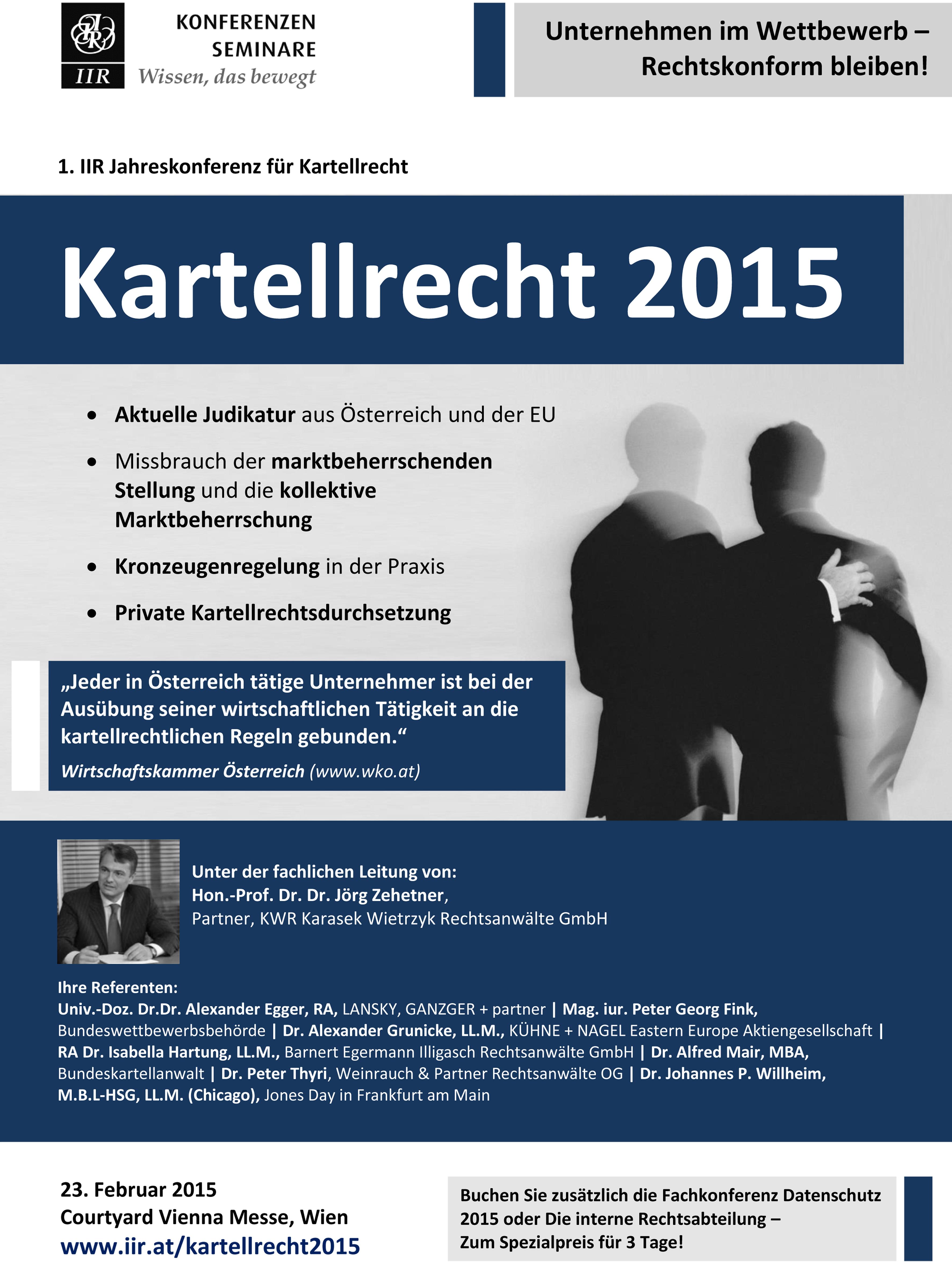 BILD - IIR Jahreskonferenz Kartellrecht 2015